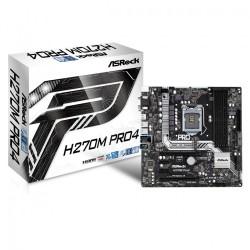 ASRock H270M Pro4 s1151 H270 4DDR4 USB3.0|2xM.2 uATX
