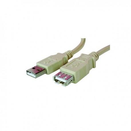 Kabel USB (1.1), USB A  M USB A F, 1.8m, transfer 480Mb|s
