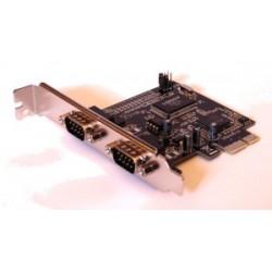 Unitek Kontroler PCIE  2x RS232 , Y7504