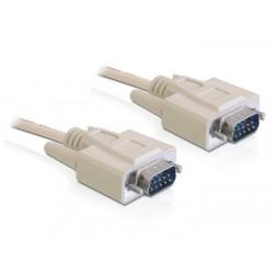 Delock Kabel transmisyjny szeregowy RS232 9M 9M 3m