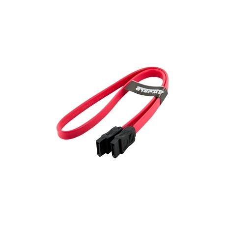 4world Kabel HDD | SATA 3 | ATASerial ATA | 45cm czerwony