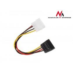 Maclean Kabel adapter zasilania Molex SATA MCTV633