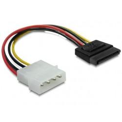Delock Kabel SATA zasilający HDD(M)>Molex(M) 6cm