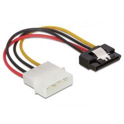 Delock Kabel SATA zasilający  HDD(M)>Molex(M) 15cm