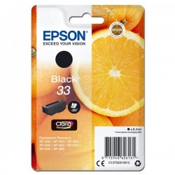 Epson oryginalny ink C13T33314012, T33, black, 6,4ml, Epson Expression Home a Premium XP530,630,635,830