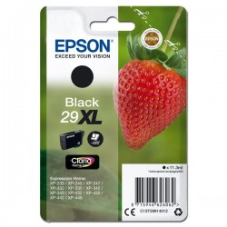 Epson oryginalny ink C13T29914012, T29XL, black, 11,3ml, Epson Expression Home XP235,XP332,XP335,XP432,XP435