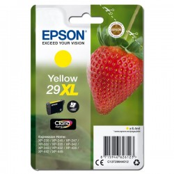 Epson oryginalny ink C13T29944012, T29XL, yellow, 6,4ml, Epson Expression Home XP235,XP332,XP335,XP432,XP435