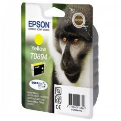 Epson oryginalny ink blistr z ochroną, C13T08944021, yellow, 3,5ml, Epson Stylus S20, SX100, SX200, SX400