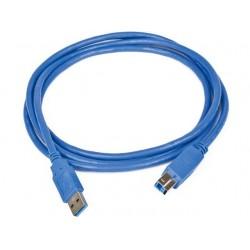 Gembird Kabel USB 3.0 AM-BM 0.5M NIEBIESKI