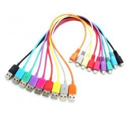 4world Kabel USB 2.0 MICRO 5pin, AM | B MICRO transfer|ładowanie 1.0m niebieski
