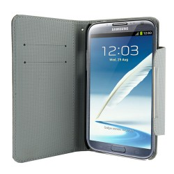 4world ETUI DO GALAXY NOTE 2 5.5, STYLE SZARE