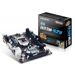 Gigabyte GAH81MS2V s1150 H81 2DDR3 GLAN USB3 8CH uATX