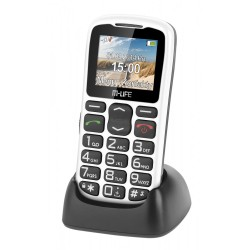 MLIFE TELEFON KOMÓRKOWY BIAŁY SENIORFON
