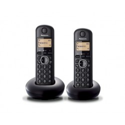 Panasonic KXTGB212 Dect Black Duo