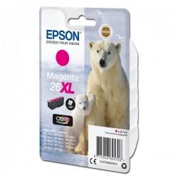 Epson oryginalny ink C13T26334012, T263340, 26XL, magenta, 9,7ml, Epson Expression Premium XP800, XP700, XP600