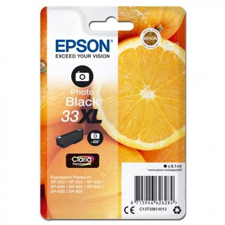 Epson oryginalny ink C13T33614012, T33XL, photo black, 8,1ml, Epson Expression Home a Premium XP530,630,635,830