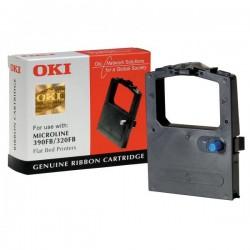 OKI oryginalny taśma do drukarki, 9002310, czarna, OKI ML 390FB, 320FB