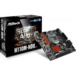 ASRock Płyta główna H110M-HDV s1151 H110 2DDR4 USB3.0 uATX