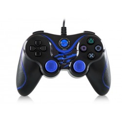 SNOPY SG301 Black|Blue USB GAMEPAD PAD DO PC WIBRACJA ANALOG
