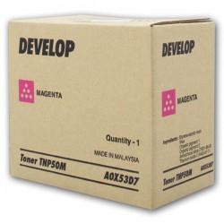 Develop oryginalny toner A0X53D7, magenta, 5000s, TNP50M, Develop Ineo +3100P