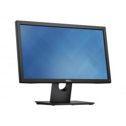Dell Monitor E2016HV  49.4cm(19.5) Black EUR