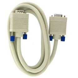 4world Przedłużacz DSub15 VGA | M|F | 1,8m | czarny