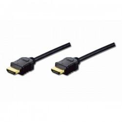ASSMANN Kabel połączeniowy HDMI Highspeed 1.4 z Eth. Typ HDMI A|HDMI A,  M|M czarny 2m basic
