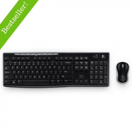 Logitech MK270 Bezprzewodowy zestaw klawiatura i mysz 920004508
