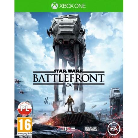 EA Star Wars Battlefront Xbox One (napisy PL)