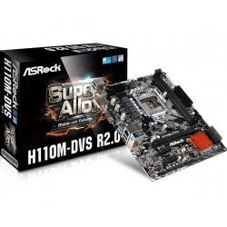 ASRock H110MDVS R2.0 s1151 H110 2DDR4 USB3.0 uATX