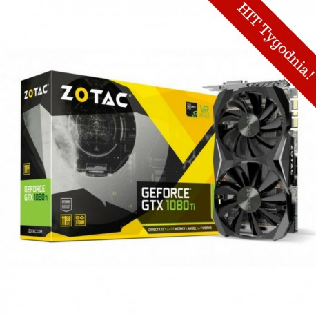 Zotac Karta grafiki GeForce GTX 1080 Ti Mini