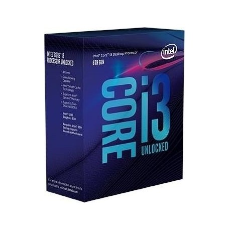 Intel CPU INTEL Core i38100 BOX 3.60GHz, LGA1151