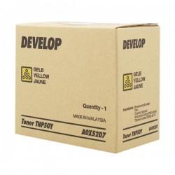 Develop oryginalny toner A0X52D7, yellow, 5000s, TNP50Y, Develop Ineo +3100P