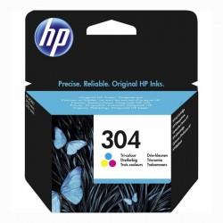 HP oryginalny ink N9K05AE, HP 304, Tricolor, 100s, HP HP DeskJet 3720, HP DeskJet3730