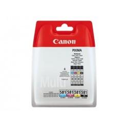 CANON INK CLI581 C M Y BK MULTI BL