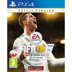 Gra EA FIFA 18 Ronaldo Edition PS4
