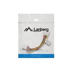 LANBERG Kabel rozdzielacz zasilania 1xHDD  2xHDD 15cm