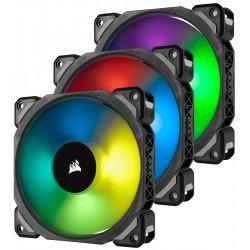 Corsair Fan LL120 RGB LED PWM 3 Fun Pack Premium Magnetic Levitation Fan ; Lighting Node PRO