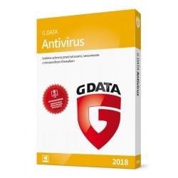 G DATA AntiVirus 2018 BOX 1PC 1ROK