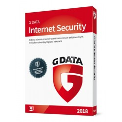 G DATA Internet Security 2018 BOX 2PC 1ROK