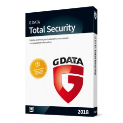 G DATA Total Security 2018 BOX 3PC 1ROK