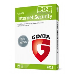 G DATA Internet Security 2018 BOX 2+2 20MCY