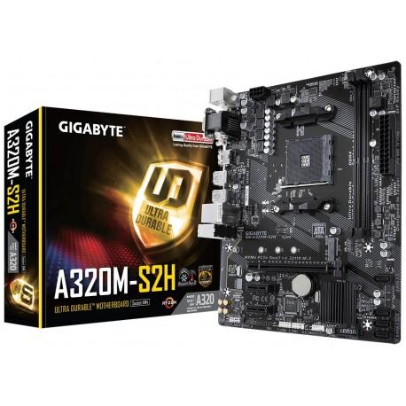 Gigabyte GAA320MS2H AM4 A320M 2DDR4 USB3|DVI|DSUB uATX