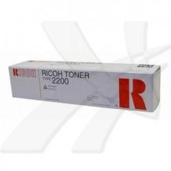 Ricoh oryginalny toner 889776, black, 3000s, Typ 2200, Ricoh FT2012, 2212, 2712, 91g