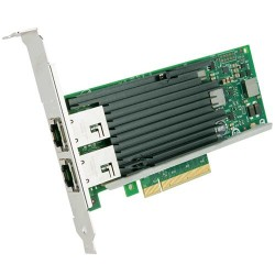 Intel Ethernet Server Adapter X540T2  2xRJ45 PCIe v2.1 (5.0GT|s) x8 Lane