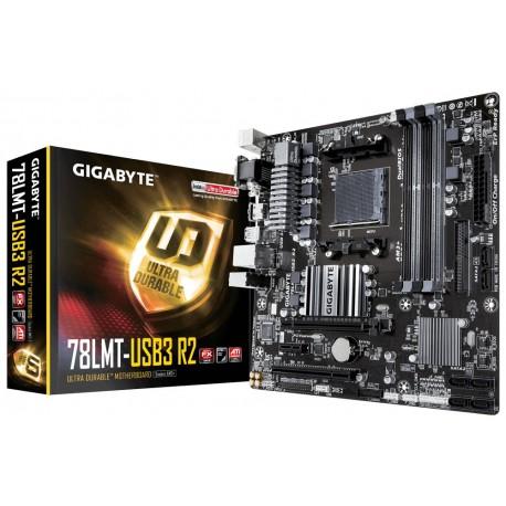 Gigabyte GA78LMTUSB3 R2 AM3+ 760G 4DDR3|DVU|HDMI ATX