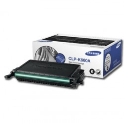 HP Inc. Samsung CLPK660A Black Toner