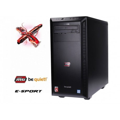 OPTIMUS Esport MB250TBQ5 i57400|8GB|1TB|GTX1060 6G |W10H