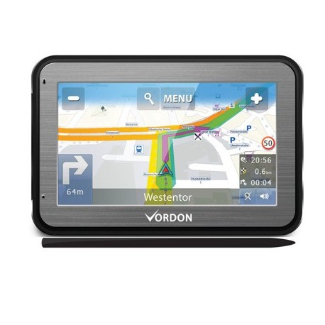 Vordon Nawigacja GPS 5 EU Aluminiowa Ramka