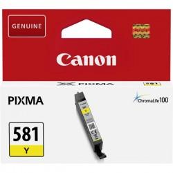 Canon oryginalny ink CLI581 Y, yellow, 5,6ml, 2105C001, Canon PIXMA TR7550, TR8550, TS6150, TS6151, TS8150, TS81